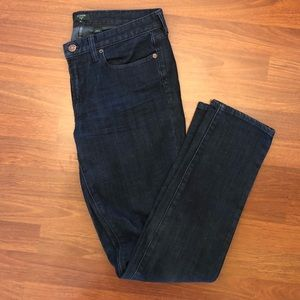 J. Crew Factory Toothpick skinny jeans